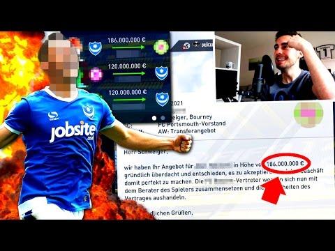 FIFA 17 : 186 MIL TRANSFER !!! 😱 2 SPIELER FÜR 120 MIL GEKAUFT !! 🔥 STG KARRIERE mit PORTSMOUTH #33