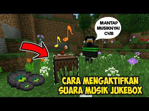 CARA MENGAKTIFKAN SUARA MUSIK JUKEBOX - DI MCPE 1.2 OFFICIAL!