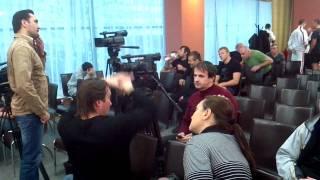 Перед взвешиванием боксеров - Запорожье 17.12.2011