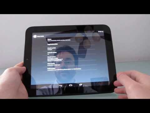 HP TouchPad runing Android 4.4 KitKat (Evervolv)