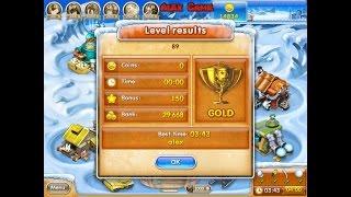 Farm Frenzy 3 Ice Age (level 89) only GOLD Веселая ферма 3 Ледниковый период (уровень 89) Золото
