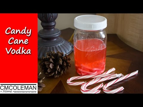 How To Make Candy Cane Vodka