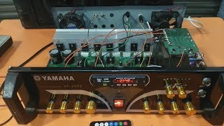 How to make an amplifier 1000 Watts  using 2SC5200 and 2SA1943?