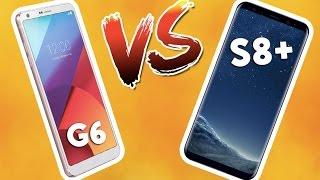 Galaxy S8+ vs LG G6 karşı karşıya! - 2017 model karşılaştırma!