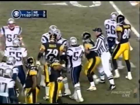 AFC Championship Game 2004  Patriots vs Steelers
