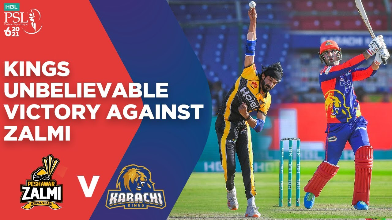Download PSL 2021   Karachi Kings Unbelievable Victory Against Peshawar Zalmi   Match 14   MG2E