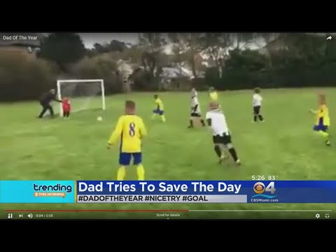 Chase Blog - Dad Pushes His Soccer-Playing Son to Make a Save