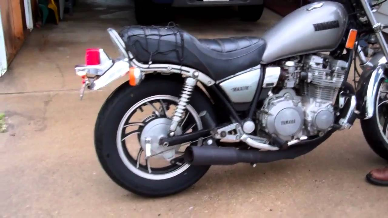 Yamaha Maxim Exhaust