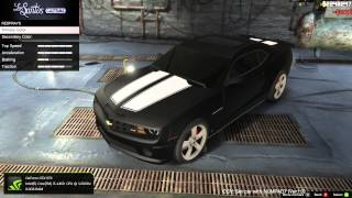 Grand Theft Auto 5 (Chevrolet Camaro) BEST CAR MODZ