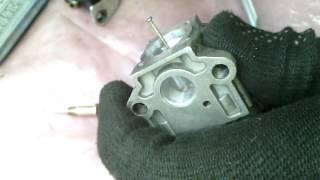 Sozlash carburetor bu brushcutters