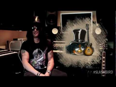Slash Covers The Angry Birds Space Theme Tune!