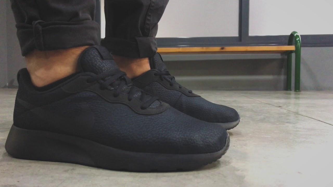Vista lapso Monarca  Nike Tanjun Prem - Black/Antracite | Sneaker10 - YouTube