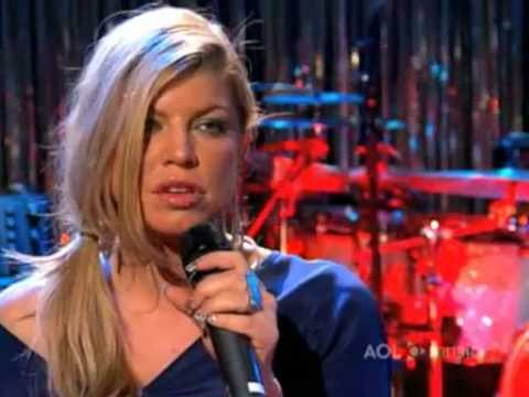 Fergie - Finally - AOL Sessions