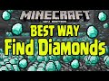 Minecraft Wii U - BEST WAY TO FIND DIAMONDS (GAMEPLAY TUTORIAL)