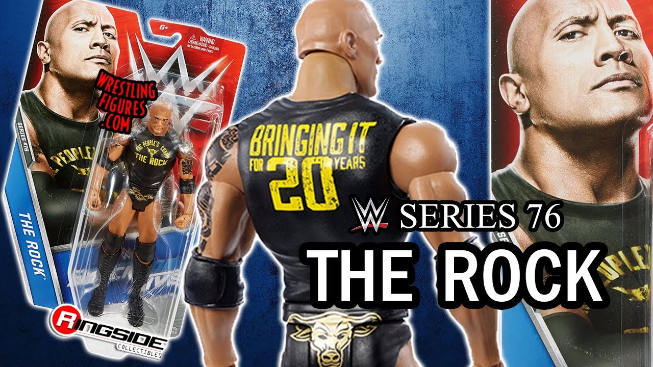 WWE FIGURE INSIDER: The Rock - WWE Series 76 Toy Wrestling Action Figure
