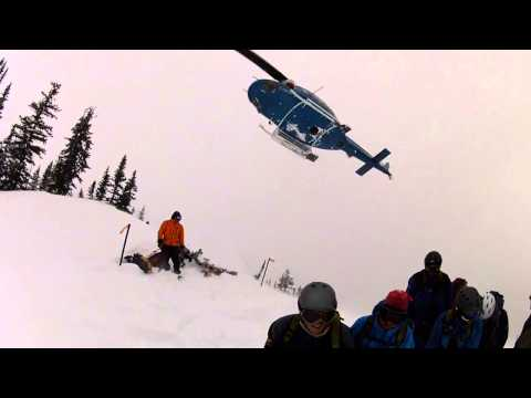 Crescent Spur Heli-Skiing Tour 4