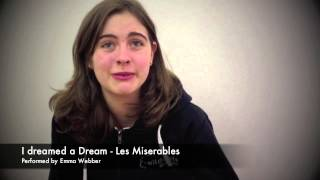 I dreamed a dream - Les Miserables performed by Emma Webber - Wildcats Post 16 Academy