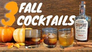 3 Fall Bourbon Cockтails 2021