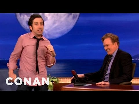 Simon Helberg Gets Possessed By Robin Williams - CONAN on TBS