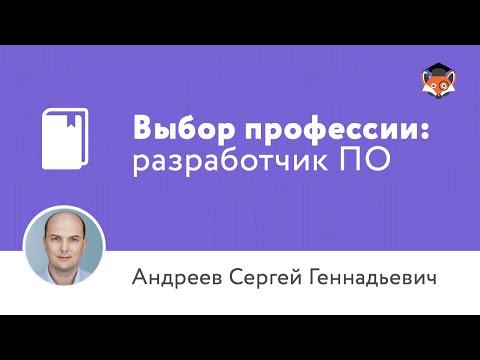 Выбор профессии: разработчик программного обеспечения