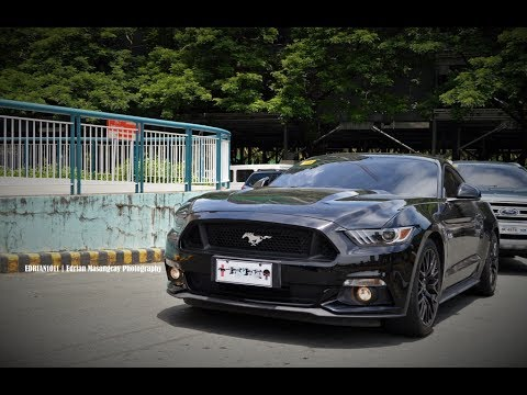 Ford Mustang Gt Arrival At Festival Mall Philippines
