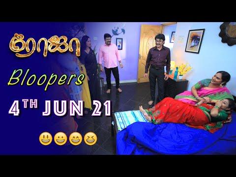 Roja Serial   Behind The Scenes   4th June 2021   Bloopers