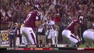2013 #1 Alabama vs. Mississippi State Highlights