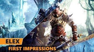 ELEX Gameplay First Impressions | ELEX PS4 Pro Gameplay