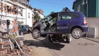Unfall in Zerf