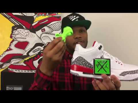 6eeb19bf6decbe UNBOXING The SNEAKER POLITICS x AIR JORDAN 3 KATRINA LIMITED EDITION!!