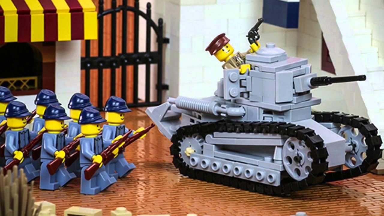 Lego WW2 Battle in Italy - YouTube