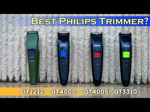 🔥🔥 Best Philips Trimmer Comparison | BT1212 Vs QT4000 Vs QT4005 Vs QT3310 | Dekh Review (Hindi)