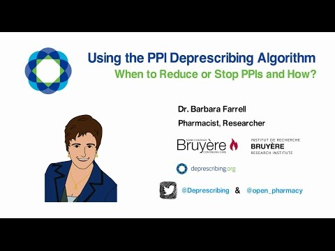 Using the PPI Deprescribing Algorithm - When to Reduce or Stop PPIs and How?