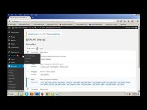 WordPress Json API - Create Post from json...