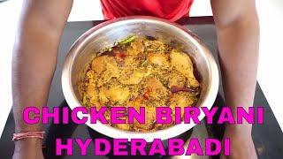 GRAND CHICKEN BIRYANI  RECIPE || COOKING CHICKEN RICE RECIPES IN HINDI || INDIAN STYLE DUM BIRYANI