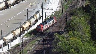 Des trains qui passent : desserte de  l'ITE OMYA à ORGON - dimanche  2 septembre 2018