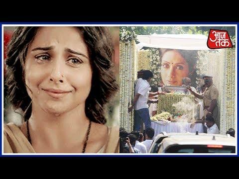 Vidya Balan Bursts Into Tears After Seeing Sridevi's Dead Body
