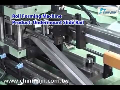 CE marking Bottom drawer runners and concealed drawer slide machine roll  forming companies