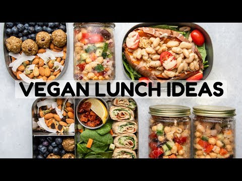 Easy Vegan Lunch Ideas (School & Dorm-Friendly!)