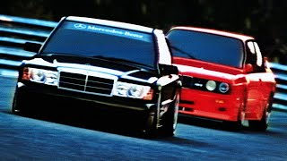 Assetto Corsa — GOLDEN ERA — Mercedes-Benz 190E vs BMW M3 E30