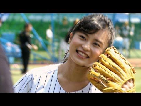 【小島瑠璃子】こじるりの美脚 ハタチの始球式は暴投!?