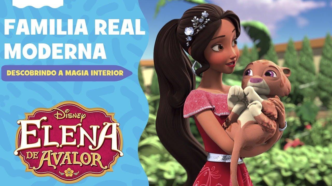 Família Real Moderna | Descobrindo a Magia Interior | Elena de Avalor