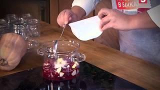 "Брусника с яблоками: рецепты консервации от ""Утра на 5"""