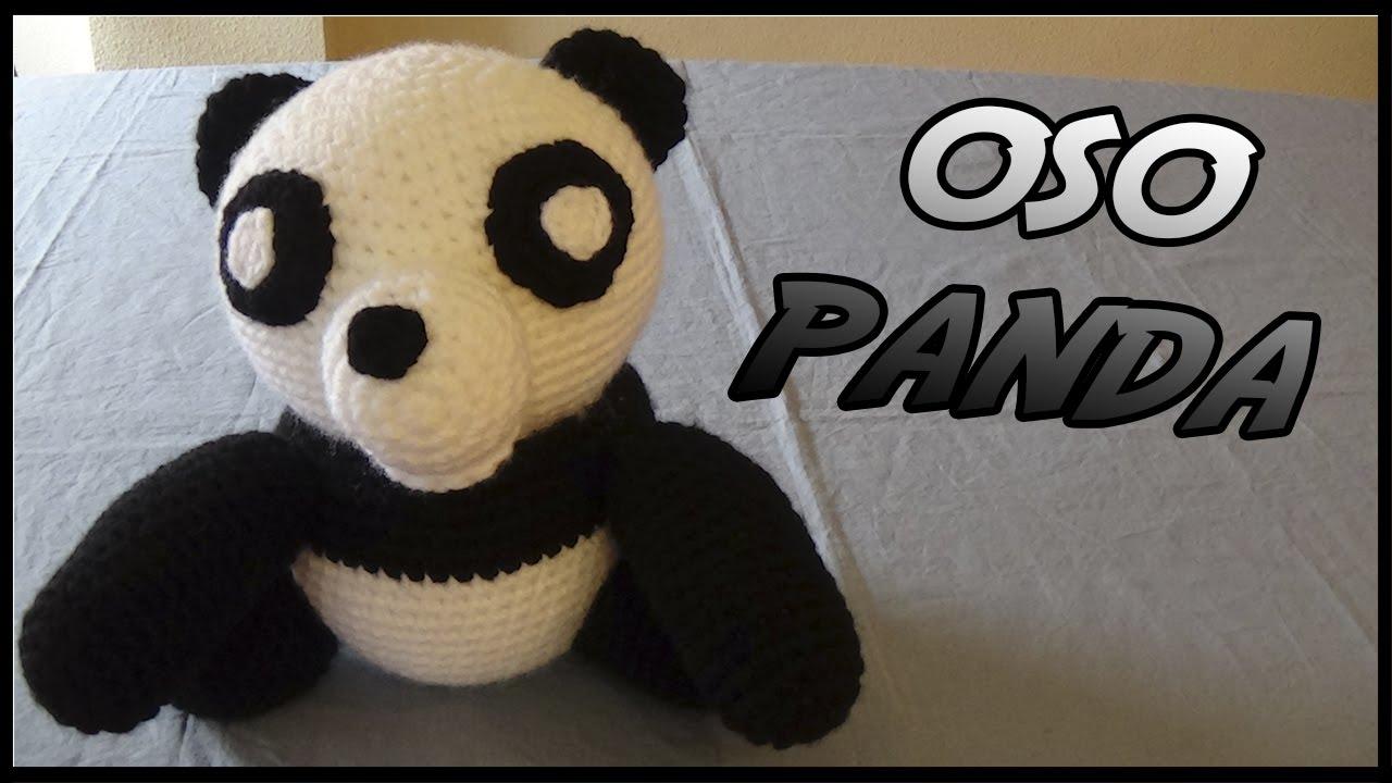 Amigurumi Oso Panda Patron : Oso panda a crochet youtube