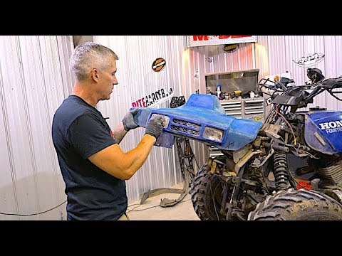 EP #2 Honda Fourtrax 300 TEAR DOWN!! Episode #2!!