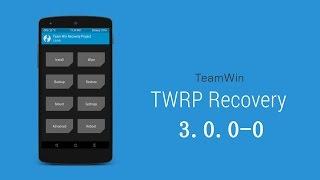 ¿Cómo actualizar el TWRP a la nueva versión 3.0?