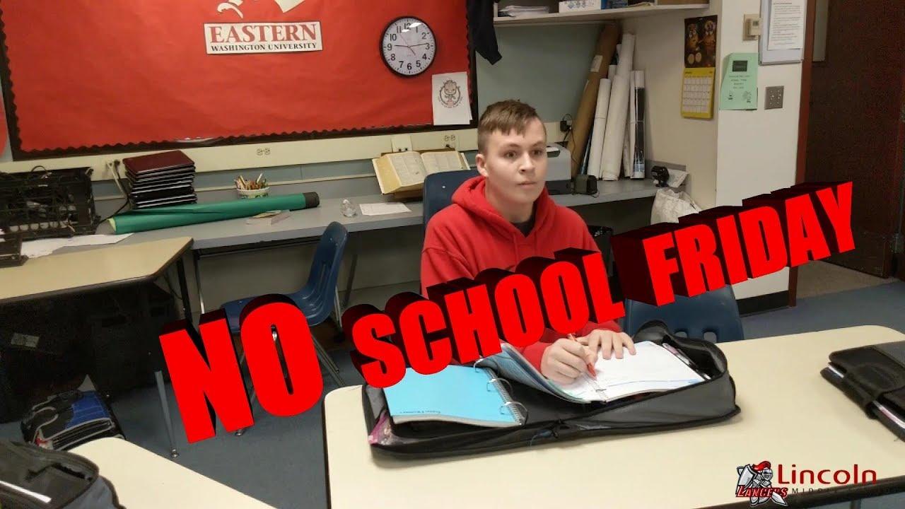 no gum in school