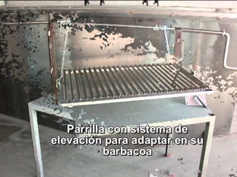 Barbacoas parrillas argentinas youtube for Parrillas de barbacoa