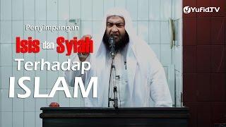 Khutbah Jumat : Penyimpangan ISIS dan Syiah Terhadap Islam - Syaikh Ali bin Hasan Al-Halaby