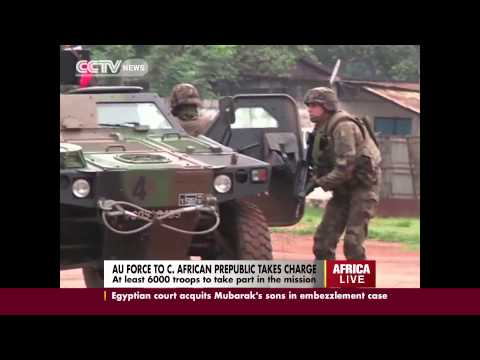 Atleast 6000 troops to take charge so as to control  Central African Republic crisis